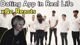 xQc Reacts to 30 vs 1: Dating App in Real Life (Ep 5)