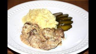 Куриная Печень в Натуральном Йогурте в Мультиварке Скороварке Redmond