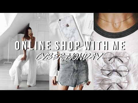 ONLINE SHOP WITH ME   CYBER MONDAY