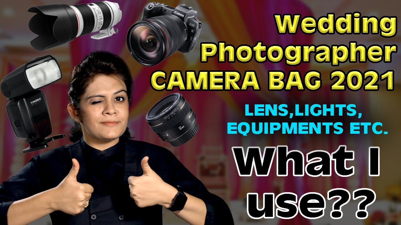 Whats in my Wedding Photography Camera & Gear Bag 2021?? Equipments for Best Wedding Photos! HINDI