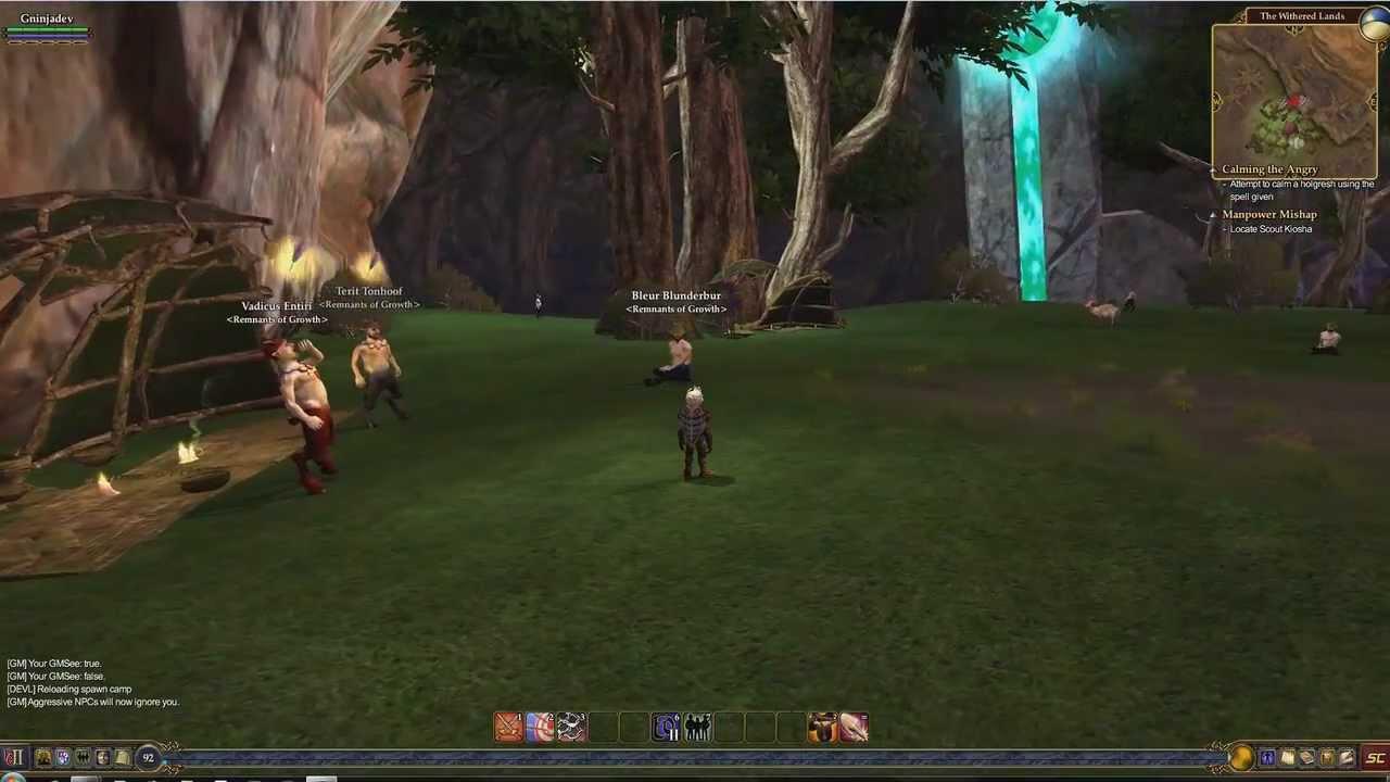 Everquest 2: NightStalker Guild Hall Tour - YouTube