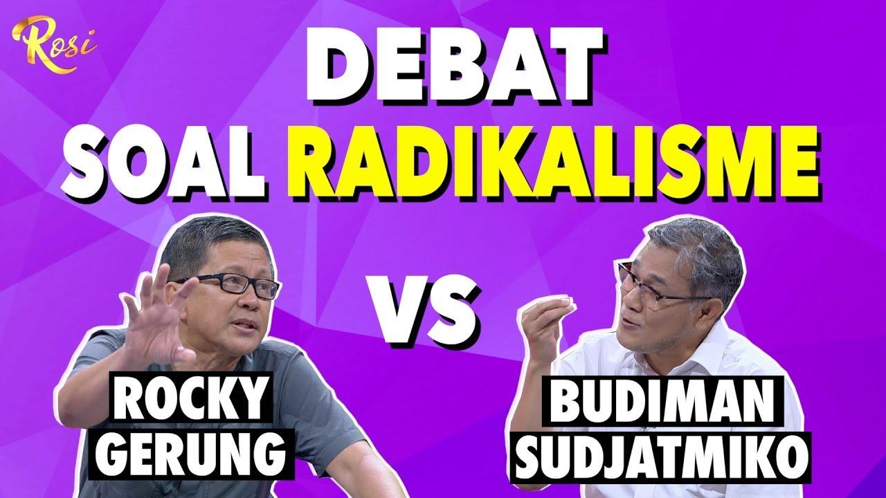 Download Seru! Rocky Gerung Vs Budiman Sudjatmiko Debat Soal Radikalisme | Gebrakan Menteri Jokowi - ROSI (2)