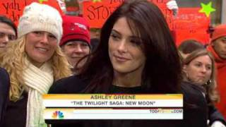 Ashley Greene On The Today Show (November 24th 2009)