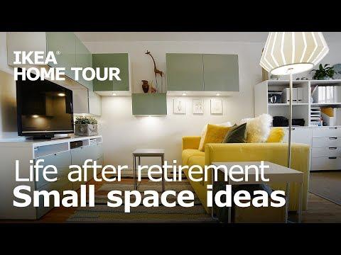 A Studio Apartment for Retirement Living - IKEA Home Tour (Episode 405)