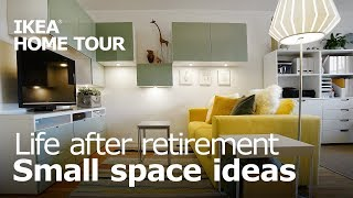 A Studio Apartment for Retirement Living - IKEA Home Tour (Episode 405)