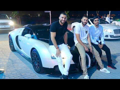 Thumbnail: Hanging out with MESSI and BENZEMA - Real Madrid FOOTBALLER !!!