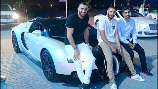 vuclip Hanging out with MESSI and BENZEMA - Real Madrid FOOTBALLER !!!