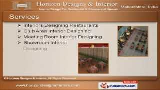 Sitting Area Interior Design By Horizon Designs & Interior Pune