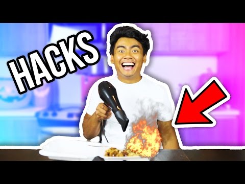 Thumbnail: COLLEGE HACKS THAT ACTUALLY WORK!