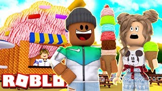 EATING 10,000 SCOOPS OF ICE CREAM IN ROBLOX