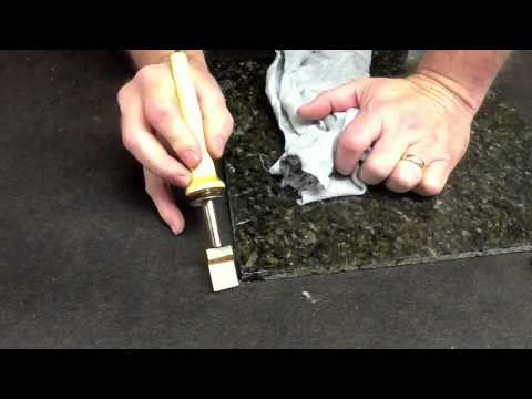 Burn In Sticks On Marble Part 2 By Finish Repair