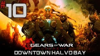 Gears Of War: Judgment - Walkthrough - Part 10 - [Downtown Halvo Bay] - Trapped By Cleavers