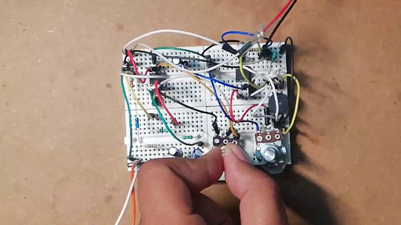 sound detector circuit using op amp 741 youtube