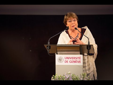 Human Rights in a New Era (ENG) - Lecture by Michelle Bachelet
