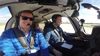 Cirrus SR20 G6 - VFR Departure Manchester International EGCC   ATC Audio