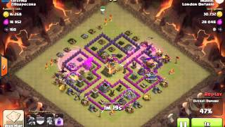 Clash of Clans | WAR Level 2 Dragon attack