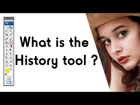 how to use history tool in Photoshop hindi tutorial thumbnail