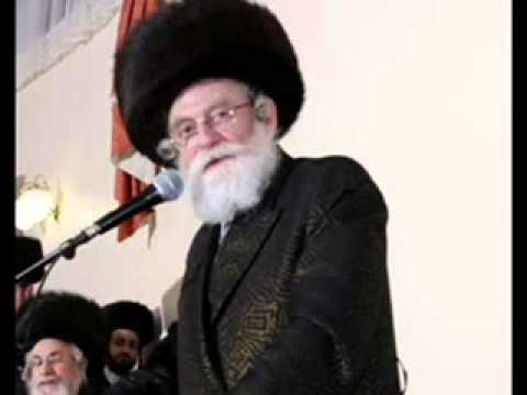 Yankel Miller the Yarmer Ruv saying Badchunes