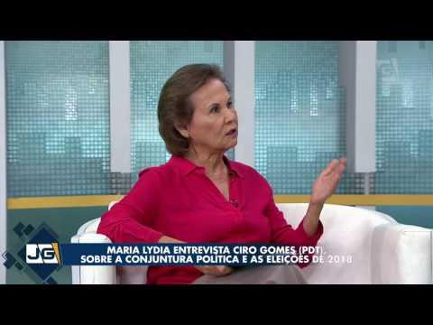 Maria Lydia entrevista Ciro Gomes (PDT), sobre a conjuntura política e as eleições de 2018