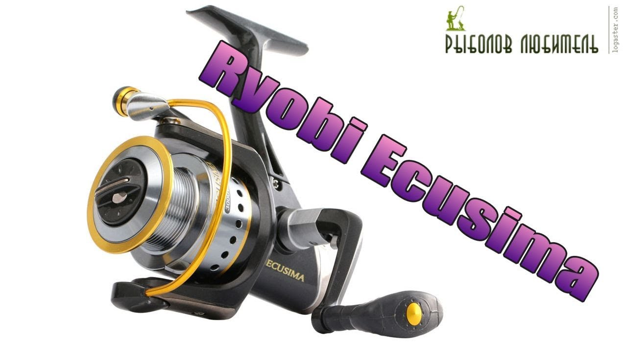 Катушка Риоби Экусима (RYOBI Ecusima) 3000 vi (fishing box) - YouTube