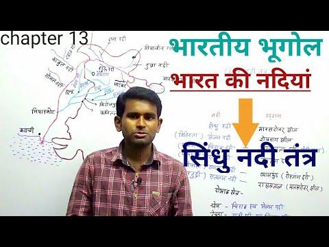Indian Geography: सिंधु नदी तंत्र(Indus river system)