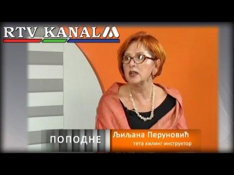 Ljiljana Perunovic gost u emisiji Popodne - RTV Kanal M