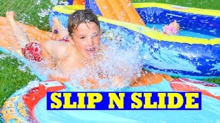 Summer Fun Slip N Slide Pool Party Worlds Best Slip And Slide Pool Splash Summer Fun