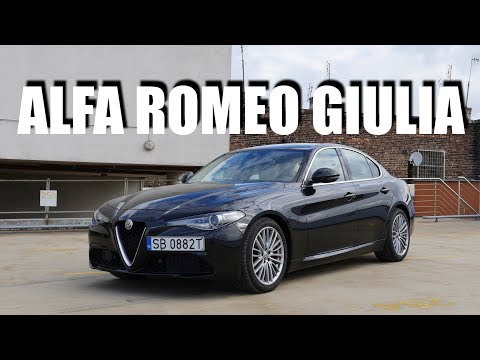 Alfa Romeo Giulia Super 2.2d (ENG) - Test Drive and Review