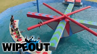 Fail Fest on The Double Cross | Wipeout HD
