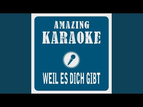 Weil Es Dich Gibt (Karaoke Version) (Originally Performed By Amigos)