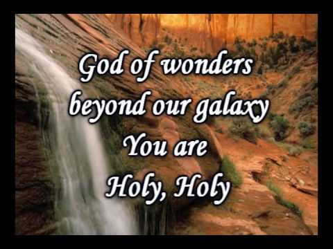 God Of Wonders Third Day Worship Video w lyrics