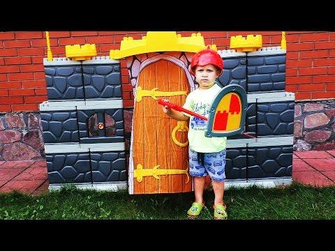 MEGA Конструктор!!! ЗАМОК Рыцаря Игры Для Мальчиков Игрушки Castle nexo Knight Entertainment Kids