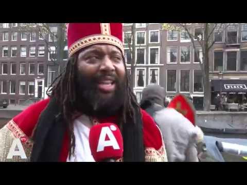 'Nieuwe Sint' komt swingend aan in de stad