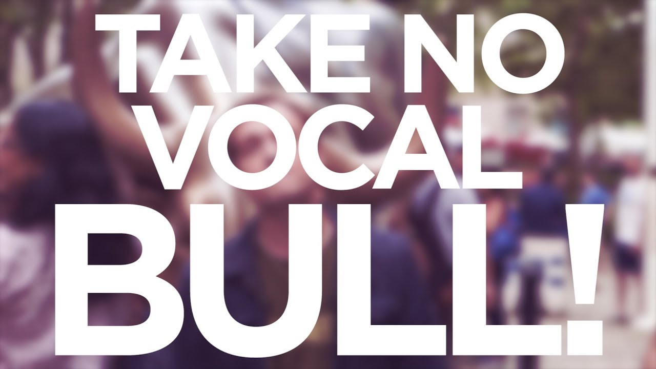 """Take No Vocal BULL!"" - Quick Singing Tips Ep. 16 Cover"