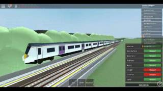Roblox MTG Class 700 MTG Herrington to Crossrail Tunnel via Redloch After a Crash