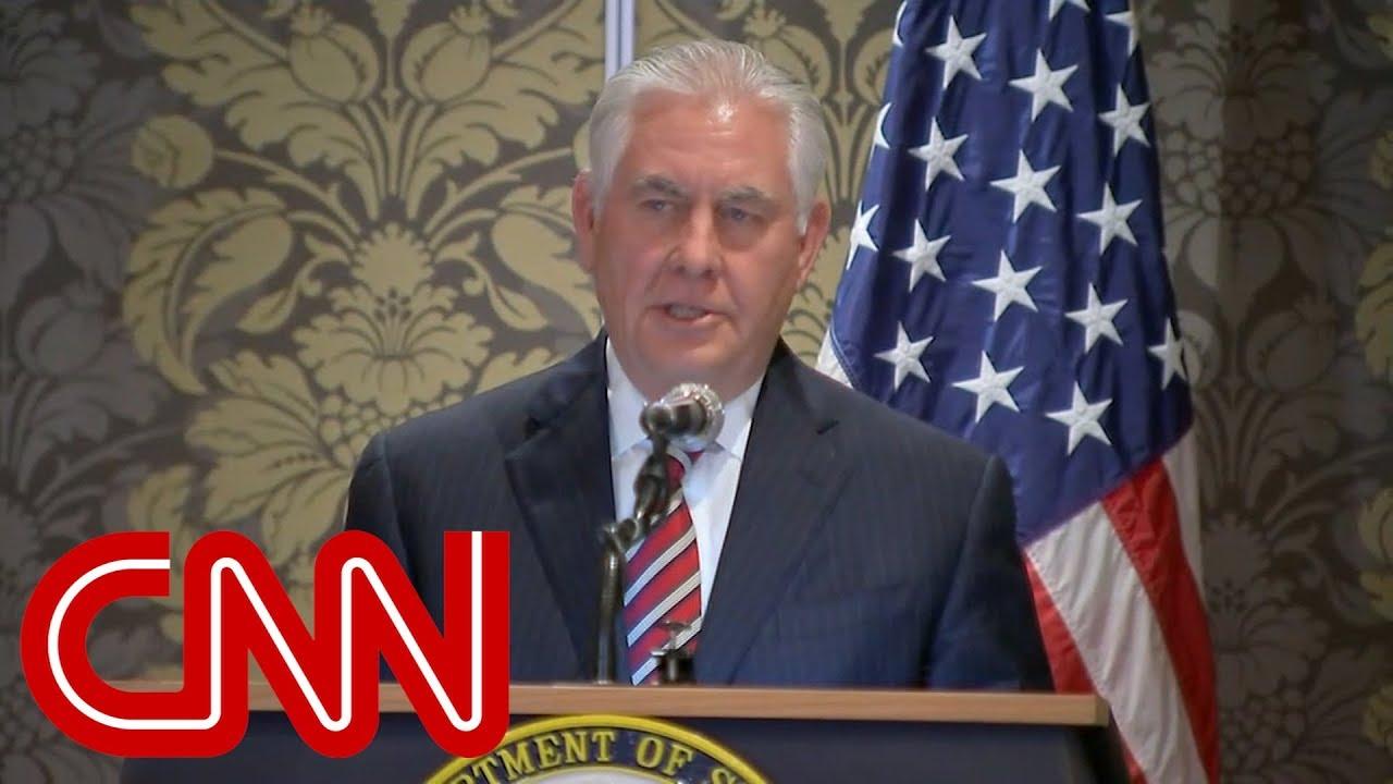 President Trump fires Rex Tillerson #1