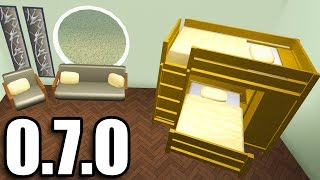 UPDATE! BUNKBEDS IN BLOXBURG!! • Roblox (0.7.0)