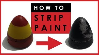 How to strip paint from scale models - easily remove enamel or acrylic paint