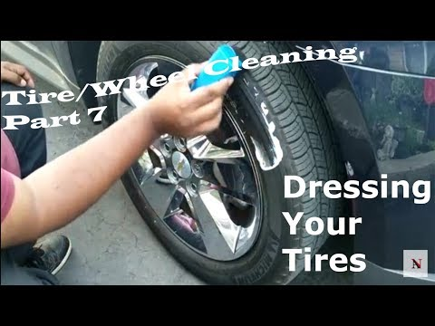 Dressing/Detailing Your Tires - Tire & Rim Cleaning Part 7