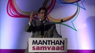 Arvind Datar on 'Toxic Taxes & Lethal Laws' at Manthan Samvaad 2013