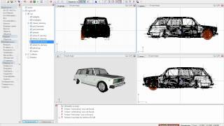 Урок №1 [Как поставить колеса на авто] ZModeler.
