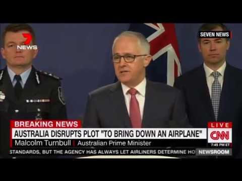 Australian Authorities Arrest FOUR In Alleged Airplane Terrorist Plot