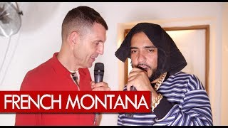 Getting LIT with French Montana talking Jungle Rules backstage at Fresh Island Festival 2017