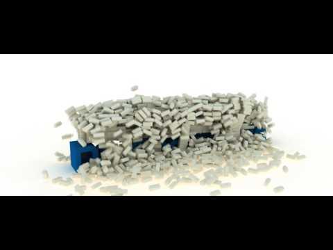 RayFire Demolitions #2 (Brickfall)