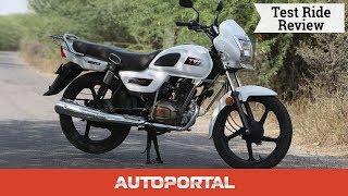 TVS Radeon Test Ride Review Hindi  - Autoportal
