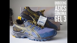 UNBOXING SEPATU TRAIL RUNNING ASICS GEL SONOMA 3 (INDONESIA)