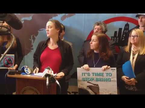 Adrienne Esposito LIVE at Long Island Public Hearing on Offshore Oil and Natural Gas Drilling