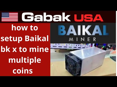 How To Setup Baikal Bk X To Mine Multiple Coins & Unboxing