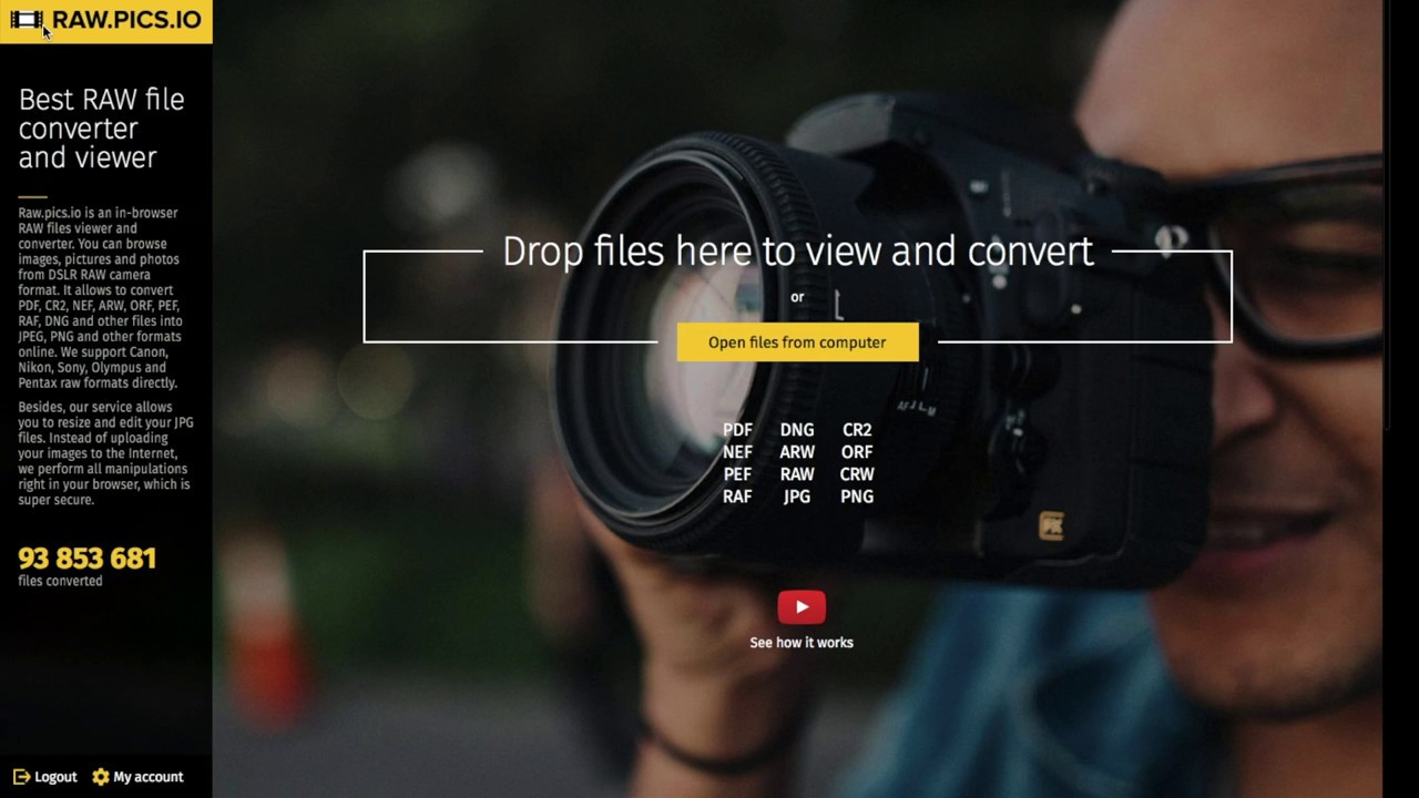 📷 Convert CR2 to JPG (JPEG) online with Raw pics io CR2 free