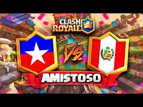 CHILE vs PERU // Clash Royale Amistoso en DIRECTO - Preparacion CR Worlds 2